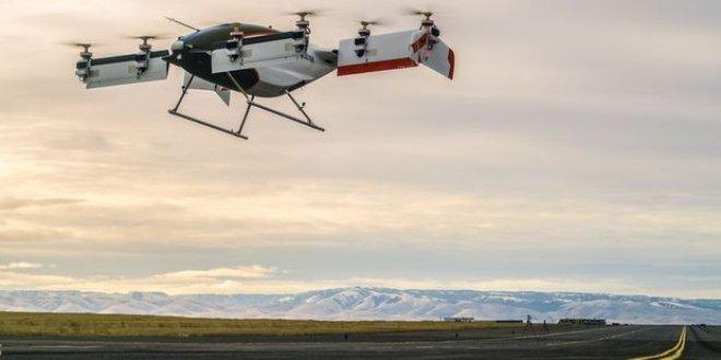 Uçan taksisi Vahana ilk test uçuşunu yaptı
