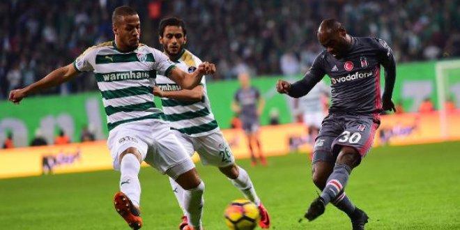 Bursaspor-Beşiktaş 2-2 (Maç özeti)