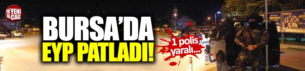 Bursa'da EYP patladı