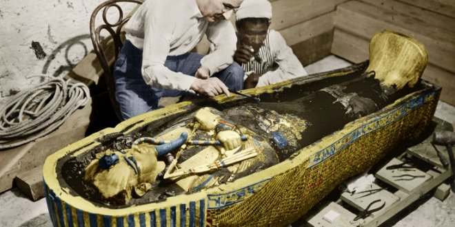 Tutankamon'un mezarındaki gizli odaların peşine düştüler
