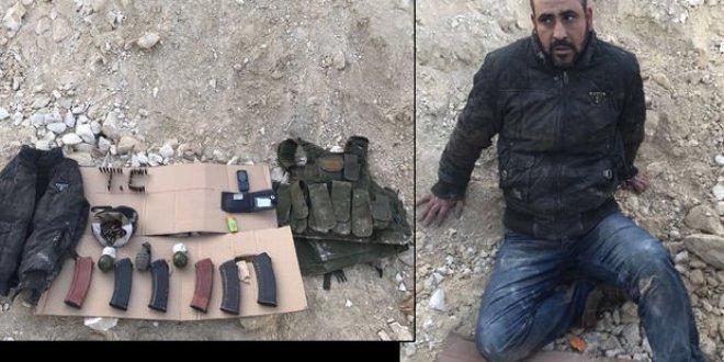 Afrin'de teröristlerin 'sivil kıyafet' oyunu