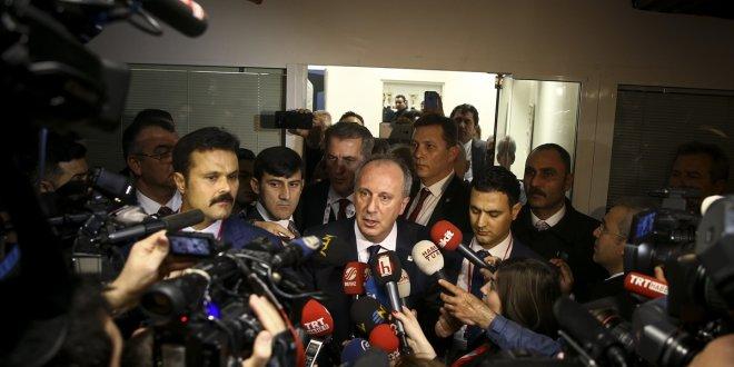 """İnce'den kurultay açıklaması: """"Ali Cengiz oyunu"""""""
