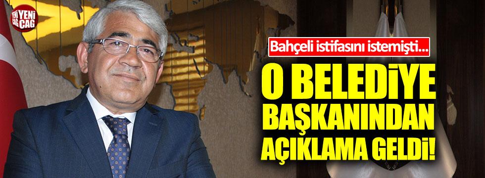 Kars'ın MHP'li Belediye Başkanı Murtaza Karaçanta istifa etti