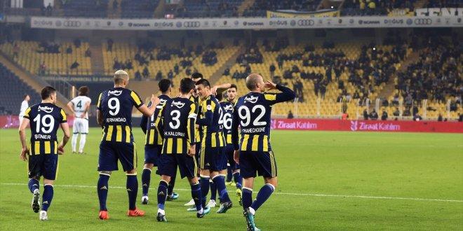 Fenerbahçe 2-1 Akın Çorap Giresunspor / Maç özeti
