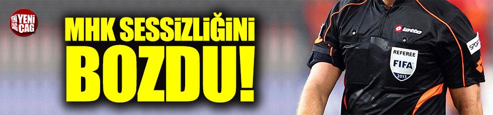 MHK'dan Fenerbahçe'ye cevap
