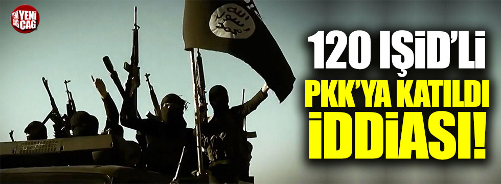 Rusya: 120 IŞİD'li PKK'ya katıldı