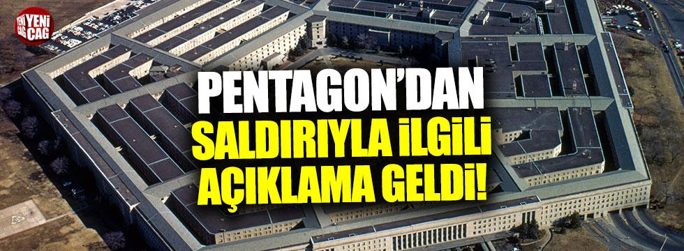 Pentagon'dan 'PYD/PKK karargahına' saldırı açıklaması
