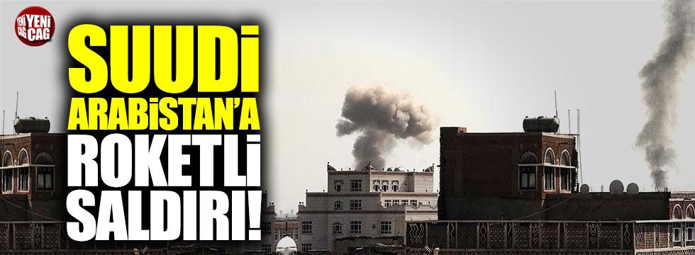 Suudi Arabistan'a roketli saldırı!