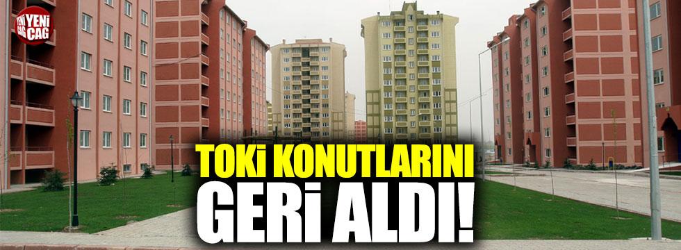 Tunceli'de TOKİ konutlarını geri aldı!