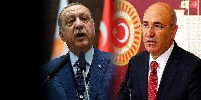 Erdoğan'dan Tanal'a suç duyurusu