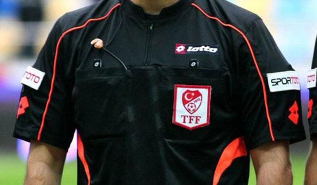 Süper Lig'de 21. hafta hakemleri belli oldu