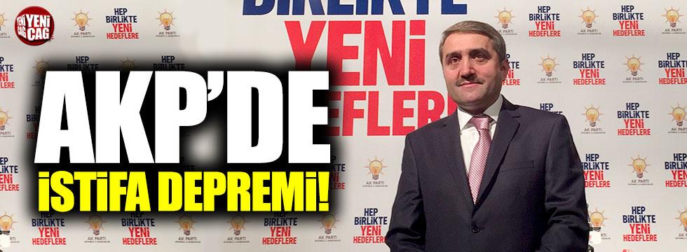 AKP İstanbul İl Başkanı istifa etti!