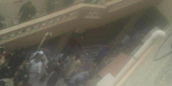 Libya'da bir camide patlama