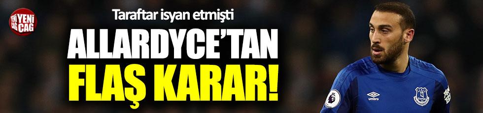 Allardyce'tan Cenk Tosun kararı