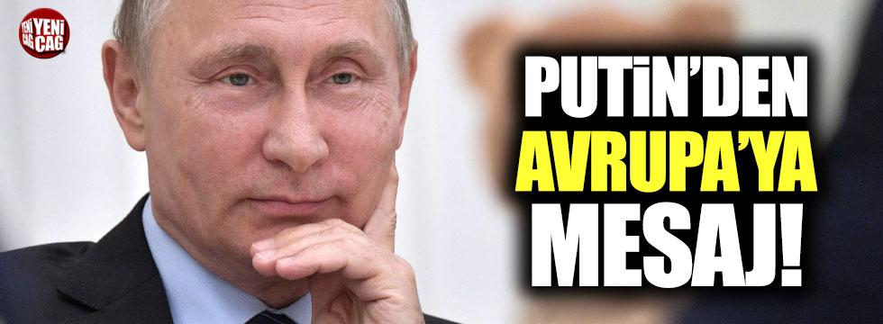 """Putin: """"Batı ile ilişkilerimizin normalleşmesini umuyoruz"""""""