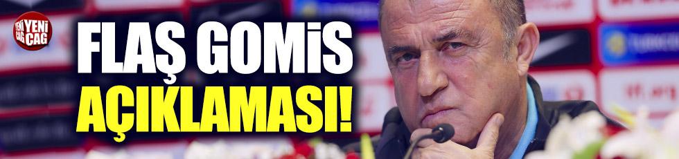Fatih Terim'den Gomis açıklaması