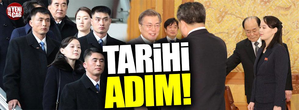 Kim Jong-un, Güney Kore liderini ülkesine davet etti