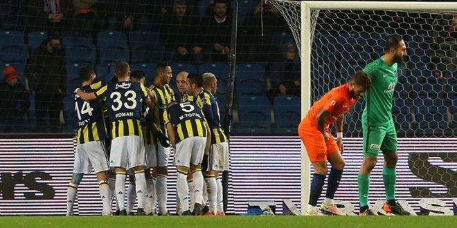 Medipol Başakşehir-Fenerbahçe / 0-2