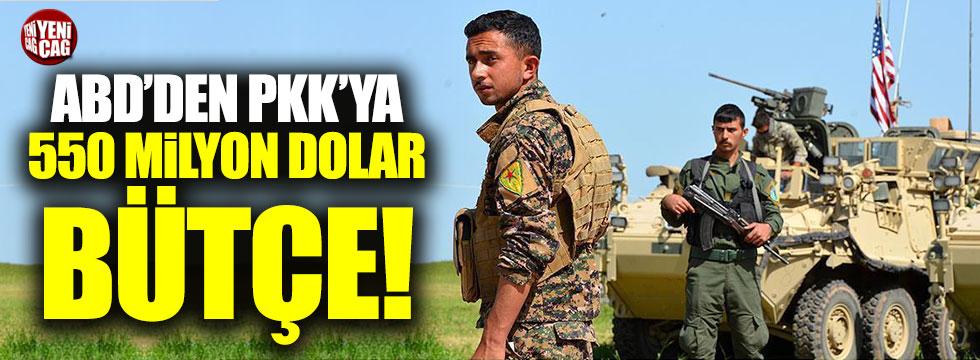 ABD'den PKK'ya 550 milyon dolar bütçe!