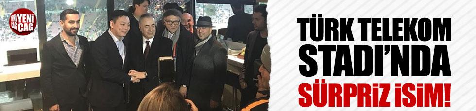 Milan'ın sahibi Galatasaray - Antalyaspor maçını izledi