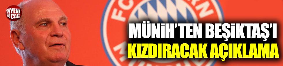 Bayern Münih'ten Beşiktaş'ı kızdıracak açıklama