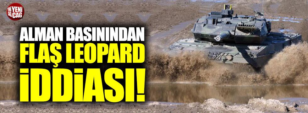 Alman basınından flaş Leopard iddiası!