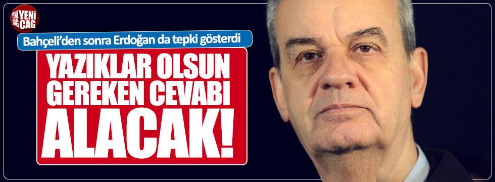 """Erdoğan'dan İlker Başbuğ'a : """"Yazıklar olsun!"""""""