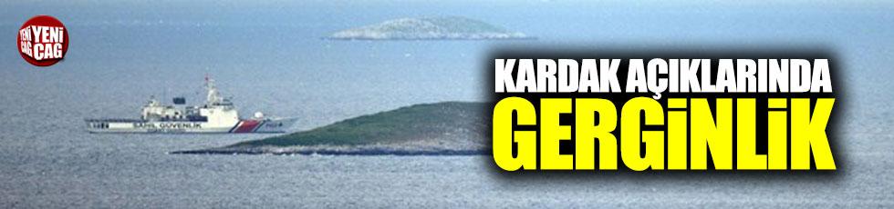 Türk ve Yunan sahil güvenlik botları arasında gerginlik