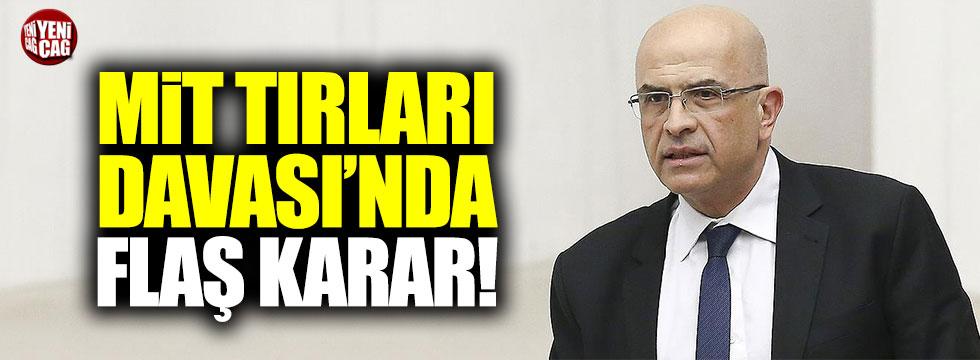 Enis Berberoğlu hakkında karar!