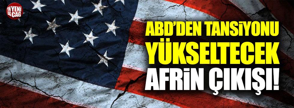Tillerson: Afrin, IŞİD'le mücadeleyi soğutuyor