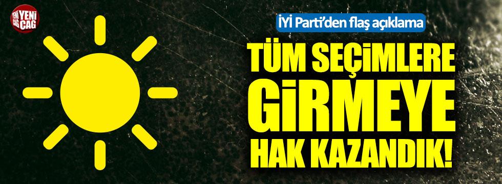 İYİ Partili Müsavat Dervişoğlu: Tüm seçimlere girmeye hakkımız var