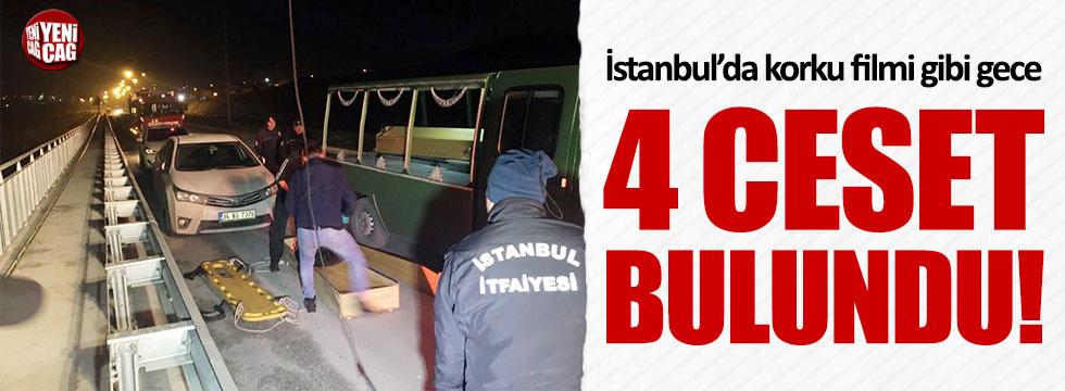 İstanbul'da korku filmi gibi gece!