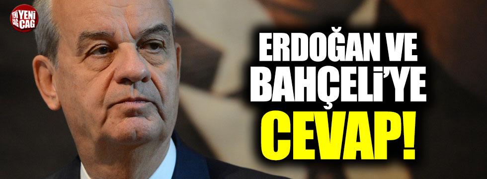 İlker Başbuğ'dan Bahçeli ve Erdoğan'a cevap