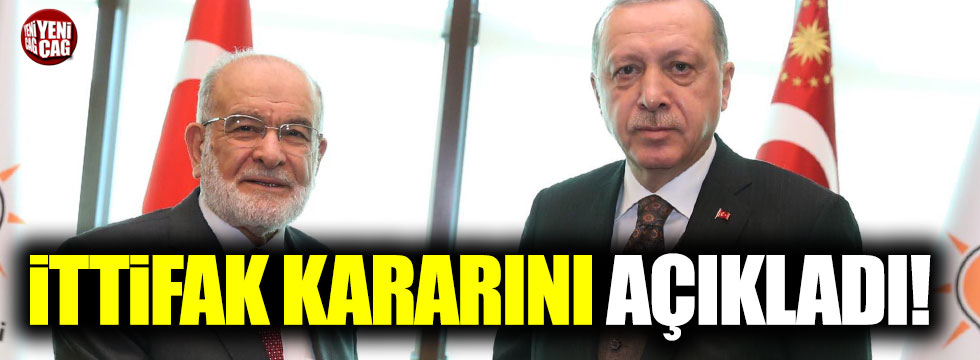 Erdoğan'la görüşen Saadet Partisi'nden ittifak açıklaması