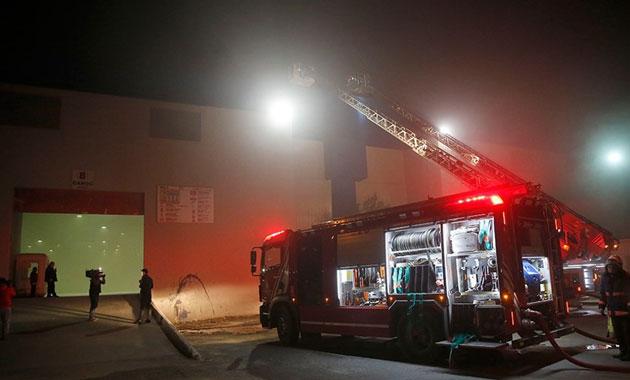 CNR fuar merkezinde yangın alarmı