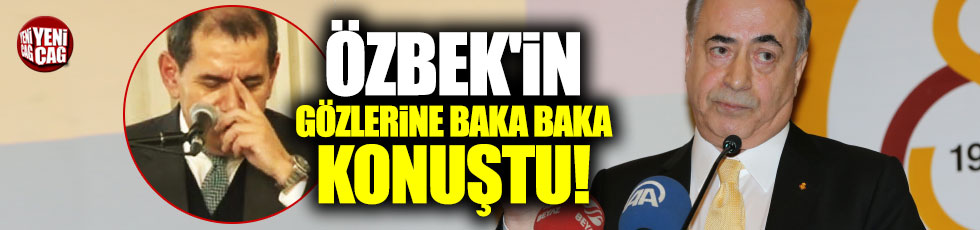 Mustafa Cengiz'den çok sert Özbek açıklaması