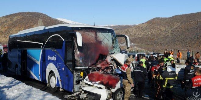 Bingöl'de feci kaza: 4 ölü