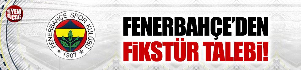 Fenerbahçe'den TFF'ye fikstür şikayeti