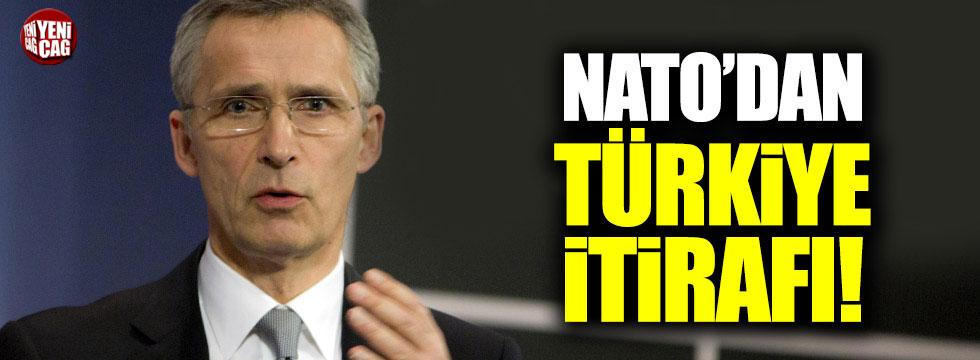 NATO'dan Türkiye itirafı
