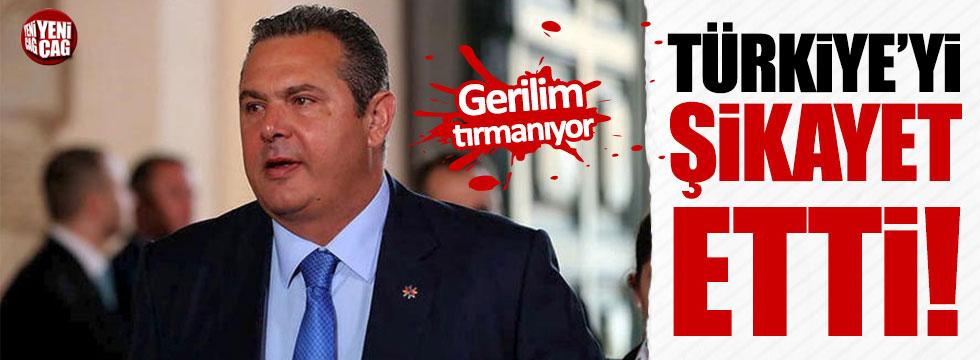 Yunan Bakan Türkiye'yi şikâyet etti