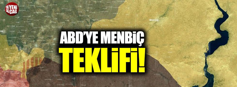 Türkiye'den ABD'ye Menbiç teklifi