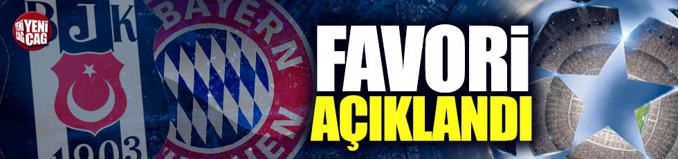 Münih-Beşiktaş maçında oranlar belli oldu
