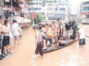 Çinde tropikal fırtına alarmı