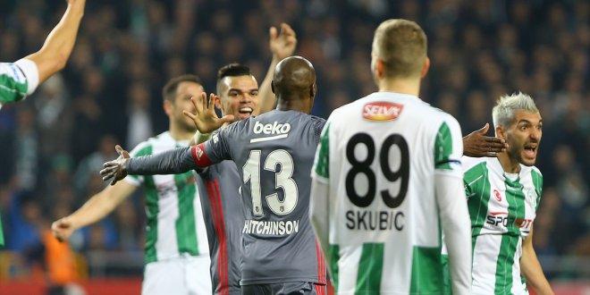 Konyaspor 1-1 Beşiktaş / Maç özeti