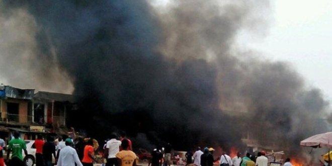 Nijerya'da bombalı saldırı:15 ölü