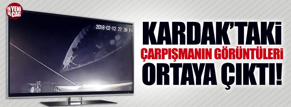 Kardak'taki çarpışmanın görüntüleri ortaya çıktı