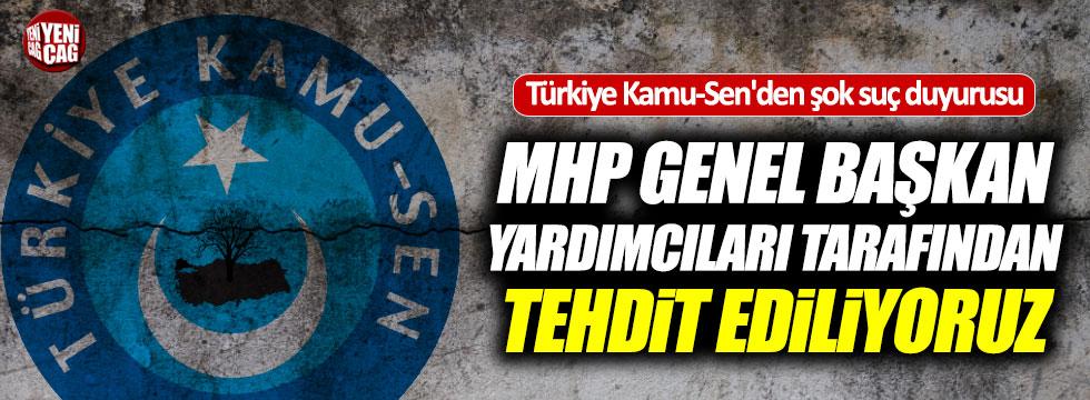 Türkiye Kamu-Sen'den MHP'ye suç duyurusu