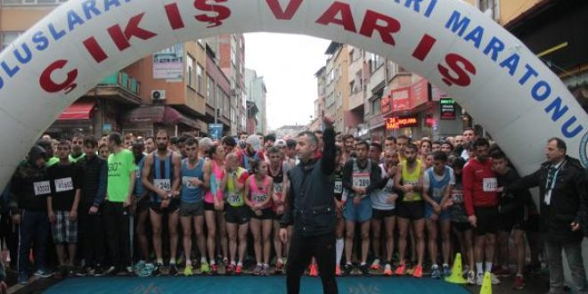 Trabzon, şehit Eren Bülbül için koştu