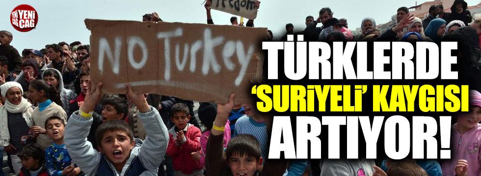 Türk halkında Suriyeli kaygısı artıyor