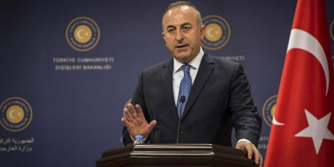 Çavuşoğlu'nda Arap Birliği'ne sert tepki